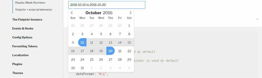 Flatpickr ile Minimalist Datetime Oluşturun | Webmaster Kitchen