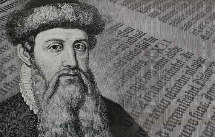 Johannes Gutenberg css