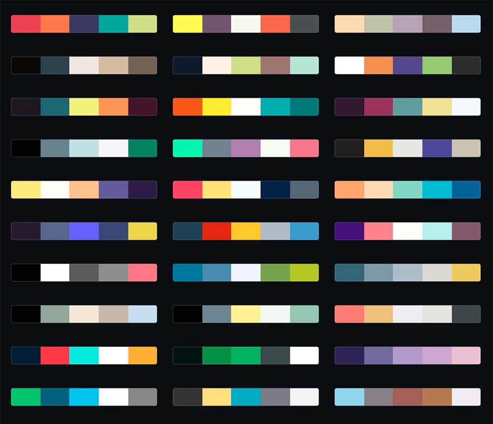 Five No Fail Palettes For Colorful Kitchens: Türkiye'nin Webmaster Mutfağı