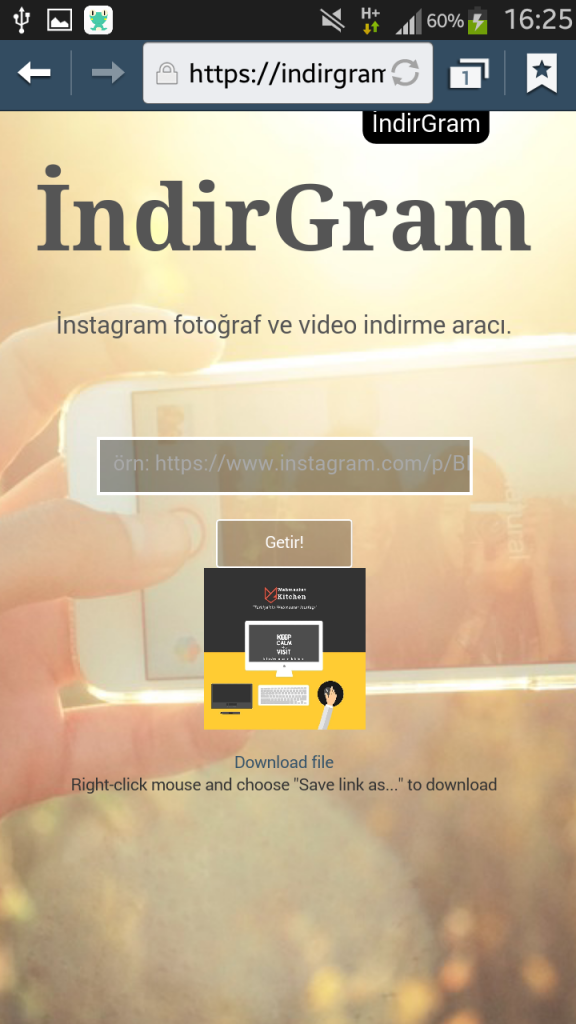 indirgram-indir