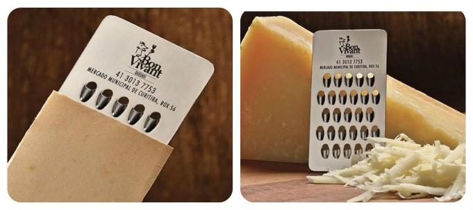Rende üreticisine ait bir kartvizit örneği